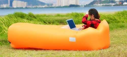 WEKAPO Inflatable Lounger- Orange