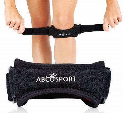 Abco Tech Patella Knee Strap for Knee Pain Relief