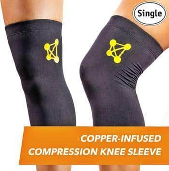 CopperJoint – Compression Knee Sleeve Copper-Infused
