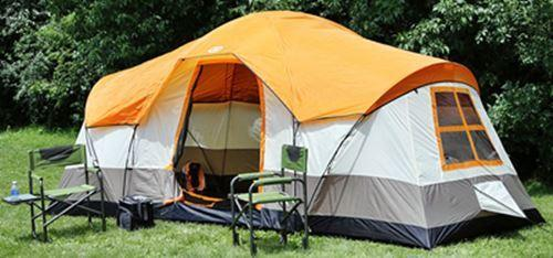 Tahoe Gear Olympia 10-Person 3-Season Family Camping Tent