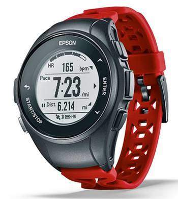Epson E11E222042 ProSense 57 GPS Running Watch with Heart Rate