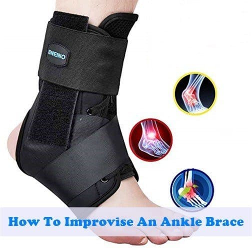 How To Improvise An Ankle Brace