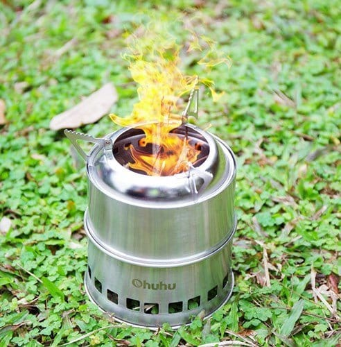 Ohuhu Wood Burning Camping Stove Review